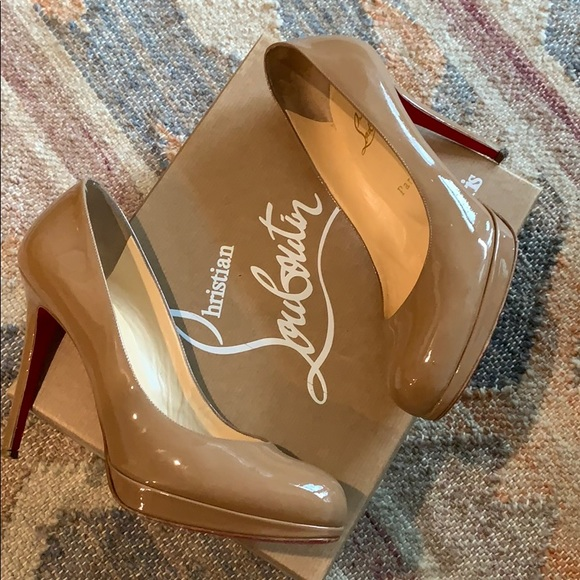huge selection of 581ee 6becb Christian Louboutin Simple 120 Pump, Size 8.5/38.5